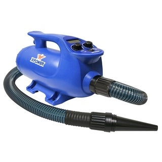 XPOWER B-8S Elite Plus Brushless Motor Pet Force Dryer with Variable Speed and Heat