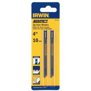 """Irwin Marathon 3071412 4"""" 10 TPI Fleam Ground Jigsaw Blade"""