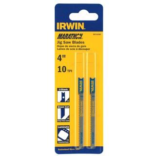 "Irwin Marathon 3071410D 4"" 10 TPI Down Cut Jigsaw Blade"