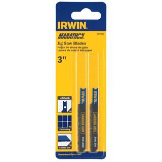 """Irwin Marathon 3071300 3"""" 5/32 Carbide Grit Jigsaw Blade"""
