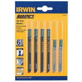Irwin Marathon 3071001 U-Shank Jig Saw Blades 6-count