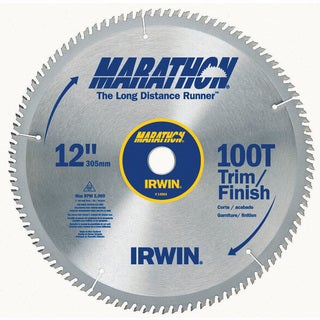 "Irwin Marathon 14084 12"" 100T Marathon Miter & Table Saw Blades"