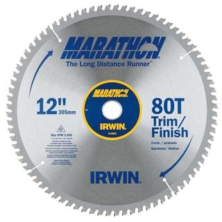 "Irwin Marathon 14083 12"" 80 T Circular Saw Blade"