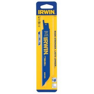 """Irwin 372618 6"""" 18 TPI Metal Cutting Reciprocating Saw Blade"""