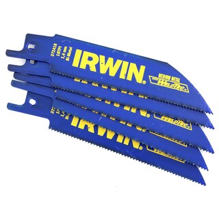 "Irwin 372418P5 4"" 18 TPI Marathon Reciprocating Saw Blade"