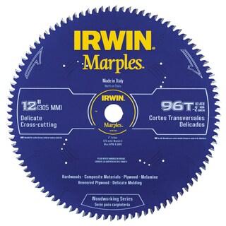 "Irwin 1807385 12"" Marples 96 Tooth Circular Saw Blade"