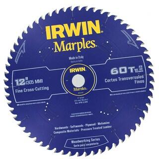 "Irwin 1807383 12"" Marples 60 Tooth Circular Saw Blade"