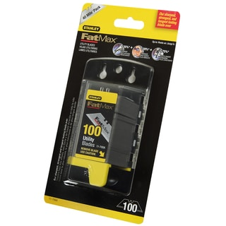 Stanley Fat Max 11-700A 100-count Stanley FatMax Utility Blades