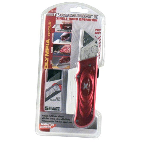 Olympia Tools 33-132 Red X- Knife