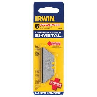 Irwin 2088100 5-count Bi Metal Safety Blades