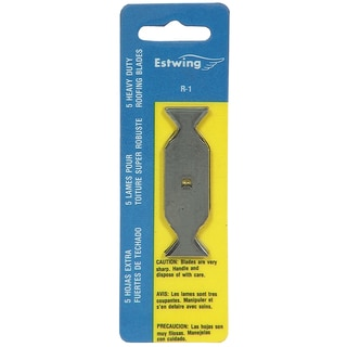 Estwing R-1 Roofing Knife Replacement Blades 5-count