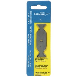 Estwing R-1 Roofing Knife Replacement Blades 5-count|https://ak1.ostkcdn.com/images/products/11630857/P18565135.jpg?impolicy=medium