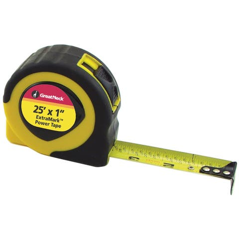 Great Neck 95005 25' ExtraMark Power Tape Rule