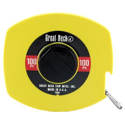 Great Neck 100E 100' Steel Tape