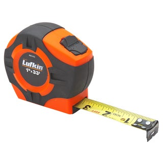"Lufkin PHV1433 1"" X 33' Hi-Viz Orange Tape Measure"