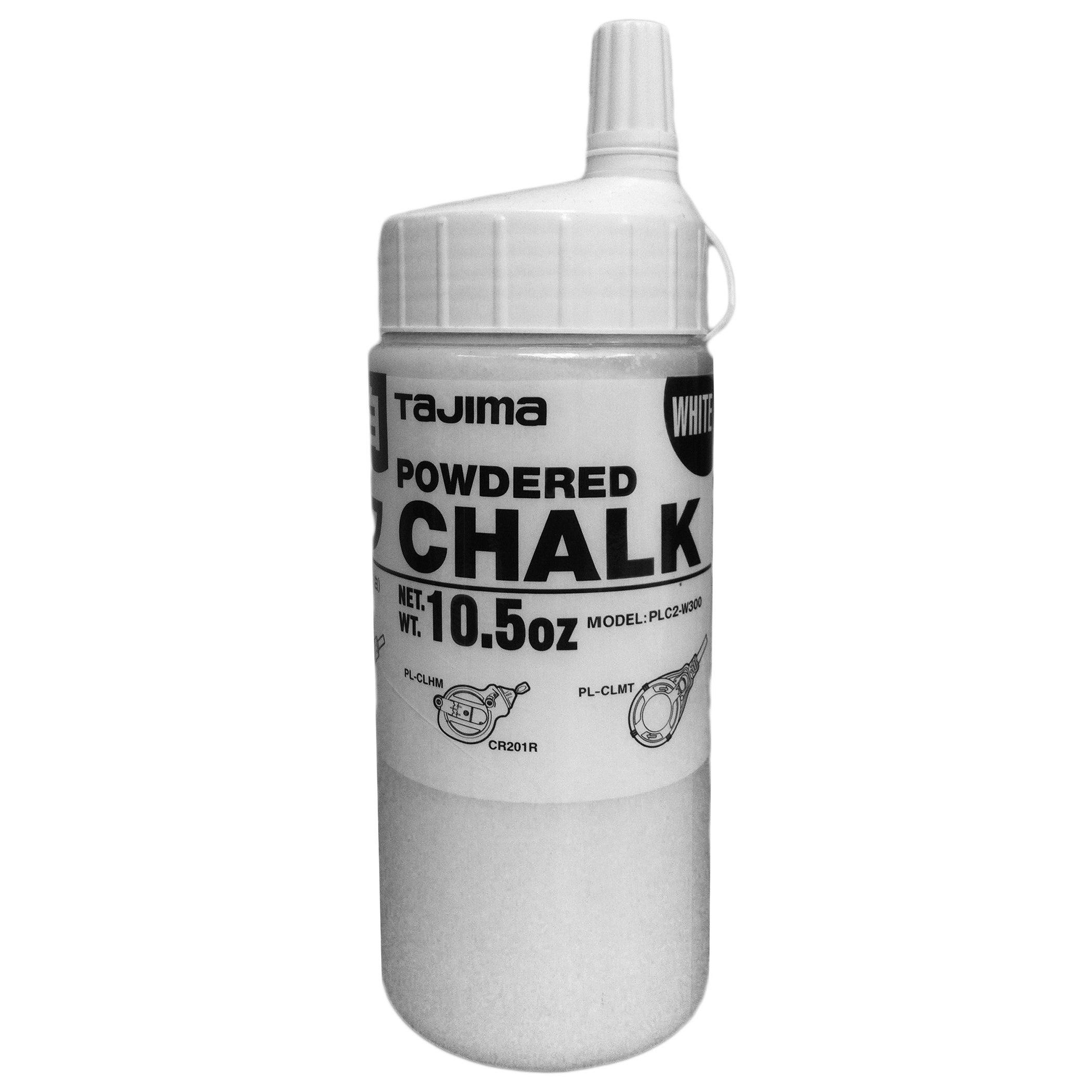 Tajima PLC2-W300 White 10.5 Oz Powdered Chalk (Measures&levels)