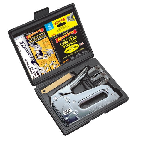 Arrow Fastener T50VP Heavy Duty Staple Gun Kit