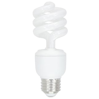 GE Lighting 42109 60 Watt T3 Spiral Light Bulb 4-count