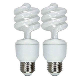 GE Lighting 42105 13 Watt Soft White General Purpose Spiral Light Bulb 2-count