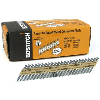 "Bostitch Stanley PT-MC14815-1M 1-1/2"" X .148"" X 35º Paper Collated Metal Connector Nails"