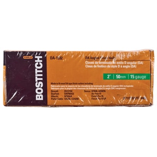 "Bostitch Stanley DA-1532 4,000-count 2"" DA Angled Finish Nails"