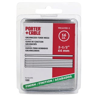 "Porter Cable PFN16250-1 1,000-count 2-1/2"" Finish Nails"