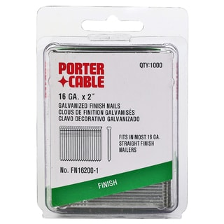 "Porter Cable PFN16200-1 1,000-count 2"" Finish Nails"