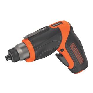 Black & Decker Power Tools BDCS40BI 4 Volt Rechargeable Cordless Screwdriver