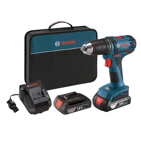 """Bosch DDB181-02 1/2"""" 18V Compact Tough Drill/Driver"""