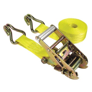 Keeper 05519 1-1/2-inch x 15' Yellow Heavy Duty Ratchet Tie Downs