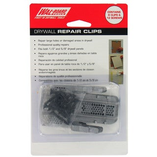 Walboard 54-014 6-count Drywall Repair Clips