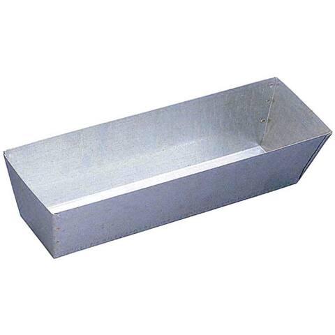 """Walboard 25-002/GP-12 12"""" Stainless Steel Mud Pan"""