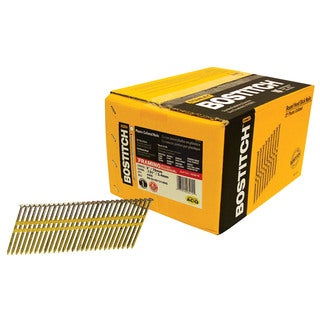 "Bostitch Stanley RH-S10D131HDG 3"" Smooth Shank Plastic Collated Stick Framing Nails"