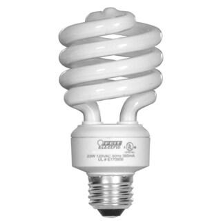 Feit Electric ESL23TM/D/4 23 Watt Daylight Mini Twist Light Bulb 4-count