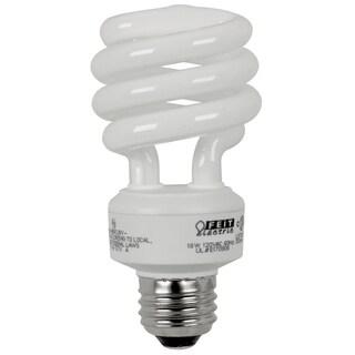 Feit Electric ESL18TM/D/4 18 Watt Daylight Mini Twist Light Bulbs 4-count