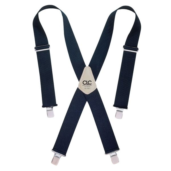"CLC Work Gear 110BLU 2"" Wide Blue Work Suspenders"