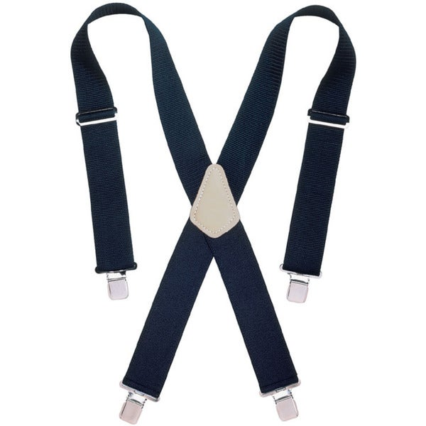 "CLC Work Gear 110BLK 2""Wide Black Work Suspenders"