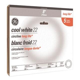 GE Fluorescent Bulb 32 watts 1950 lumens Circline T9 12 in. L Cool White 1 pk