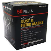 Gam SP98850 Dust & Filter Masks 50-count