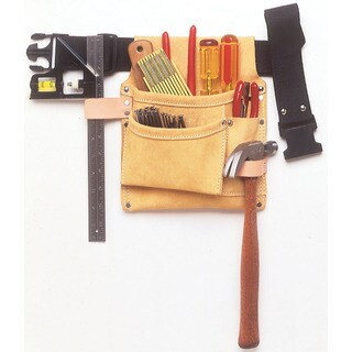 CLC Work Gear IP489X 3 Pocket Nail & Tool Bag With Polyweb Belt