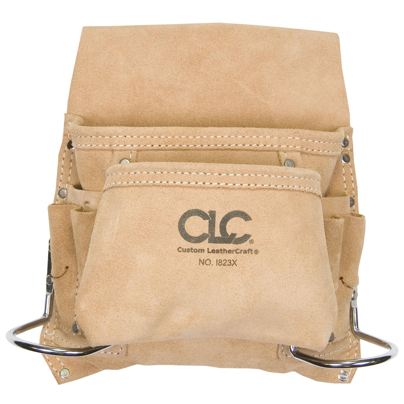 CLC Work Gear I823X 8 Pocket Carpenter's Nail & Tool Bag ...