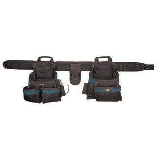 CLC Work Gear 2602 17 Pocket 4 Piece Framers Ballistic Combo Tool Belt
