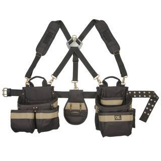 CLC Work Gear 1614 23 Pocket-5 Piece Framer's Comfort Lift Combo Rig Tool Belt|https://ak1.ostkcdn.com/images/products/11631441/P18565656.jpg?impolicy=medium