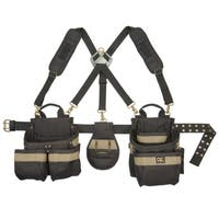 CLC Work Gear 1614 23 Pocket-5 Piece Framer's Comfort Lift Combo Rig Tool Belt