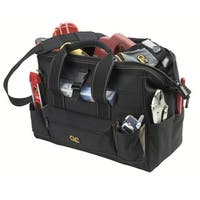 """CLC Work Gear 1534 16""""Tote Bag With Top Plastic Tray"""