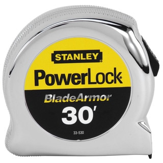 Stanley Hand Tools 33-530 30' PowerLock Tape Rule With Blade Armor Coating