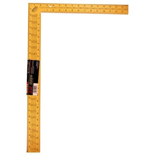"Mayes 10219 24"" Yellow Steel Rafter Square"