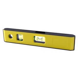 "Mayes 10198 8"" Yellow Magnet Torpedo Level"