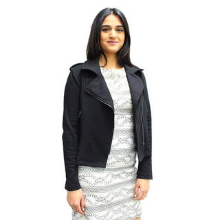 Relished Women's Black Moto Jacket