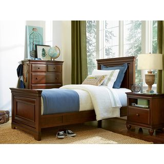 SmartStuff Classics 4.0 Complete Panel Bed in Classic Cherry Finish